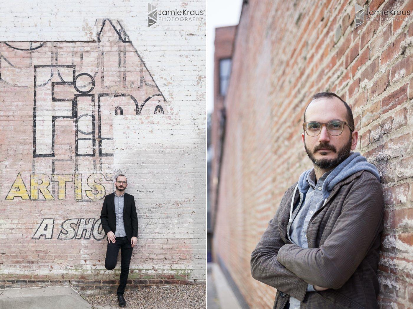 denver artist marketing photos
