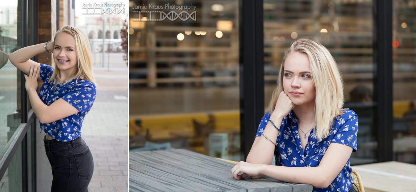 Downtown Denver Senior photographer