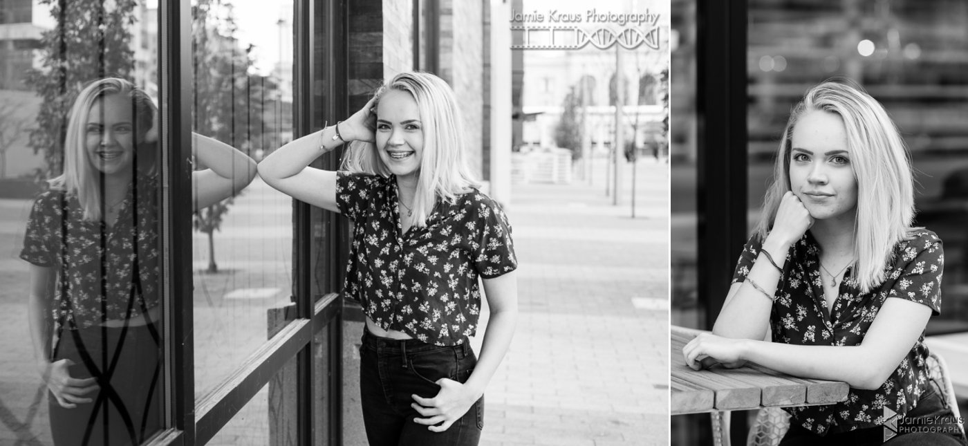 Downtown Denver Senior photography