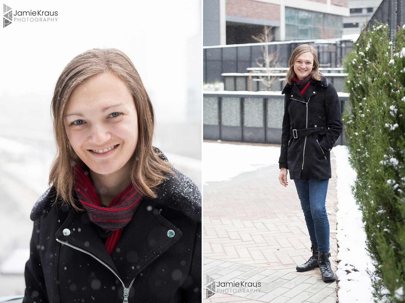denver winter headshot photographer