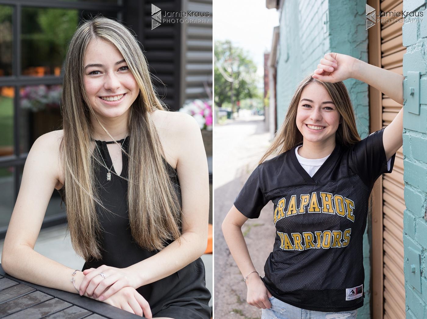 arapahoe high school senior portraits