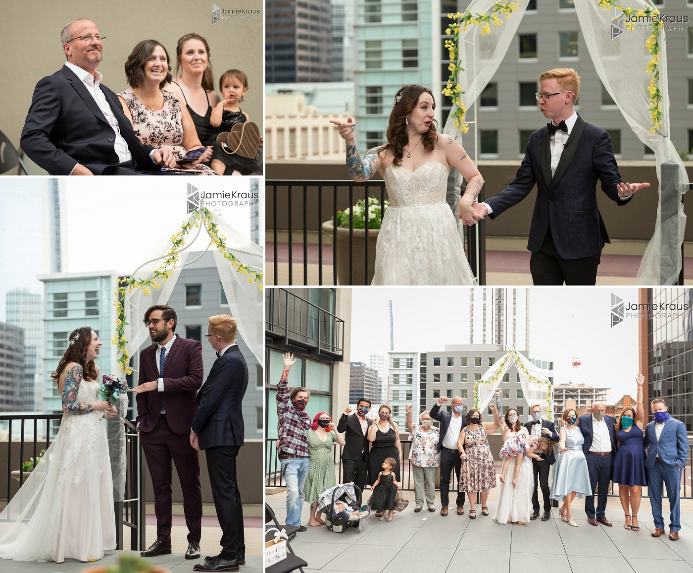 downtown denver wedding ceremony