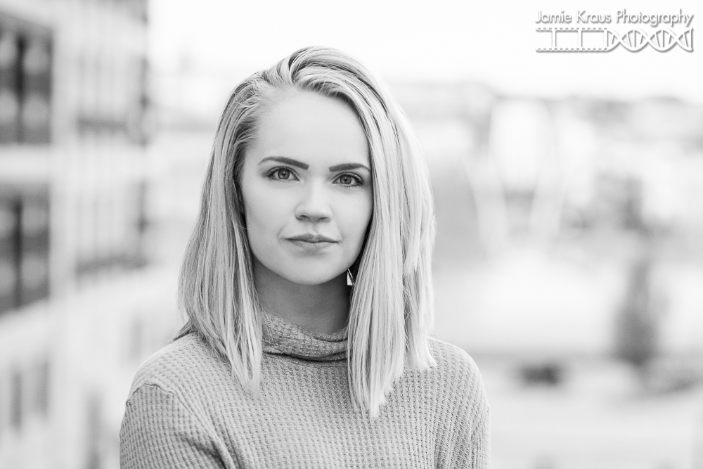 Downtown Denver Senior Session